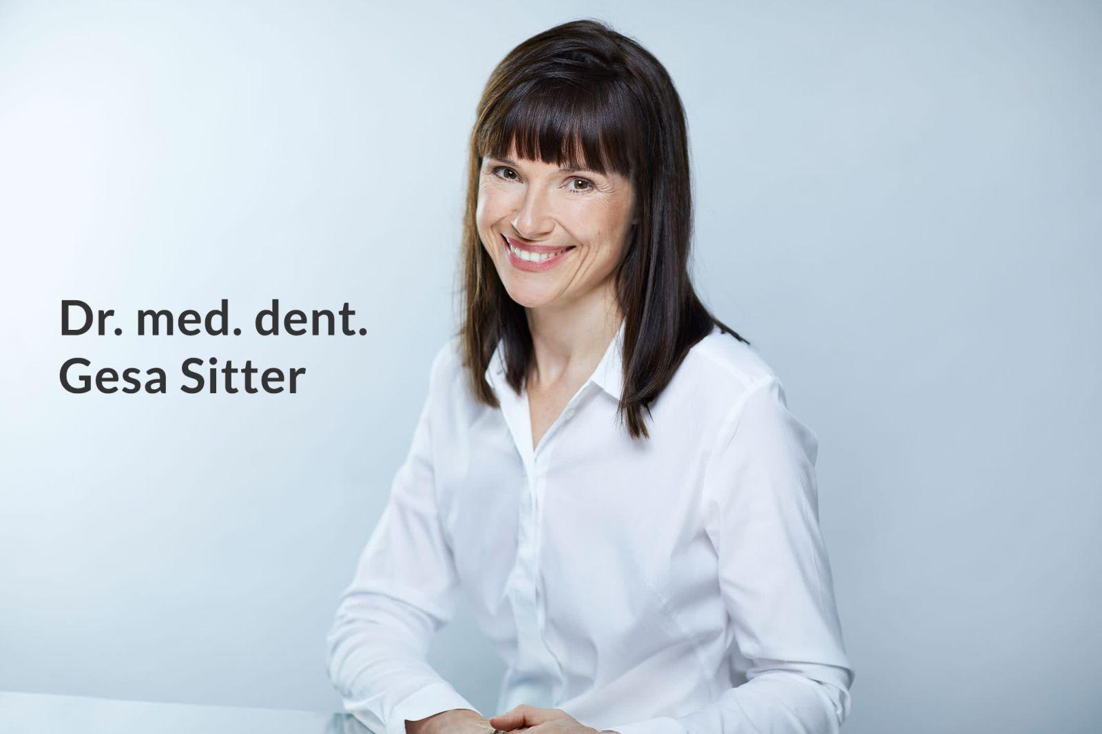 Dr. med. dent. Gesa Sitter